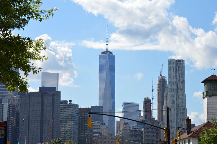 Vista del World Trade Center, Zona 0 #NY #iArchitecture #architecturehunter #build #Awesome