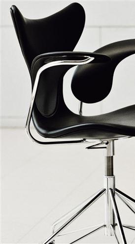 Arne Jacobsen, Lily chair for Fritz Hansen.