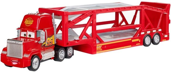 Disney Pixar Cars Launching Mack Transporter NEW