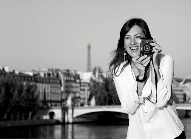 Beautiful pic of Carla Coulson in Paris