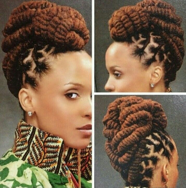 Hairstyles For Dreads httpwwwbehairstylescompicturesdreadlocks hairstyles Loc Updo More
