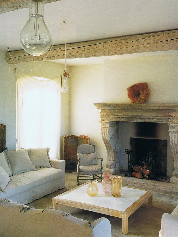 french simplicityStones Fireplaces, Interiors Inspiration, Home, French Interiors, Living Room, Home Decor, French Simplicity, French Design, Inspiration Room