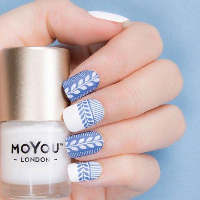 Ideas para crear la tendencia del momento: las uñas vaqueras #denimnails #nailart #uñasvaqueras #manicura