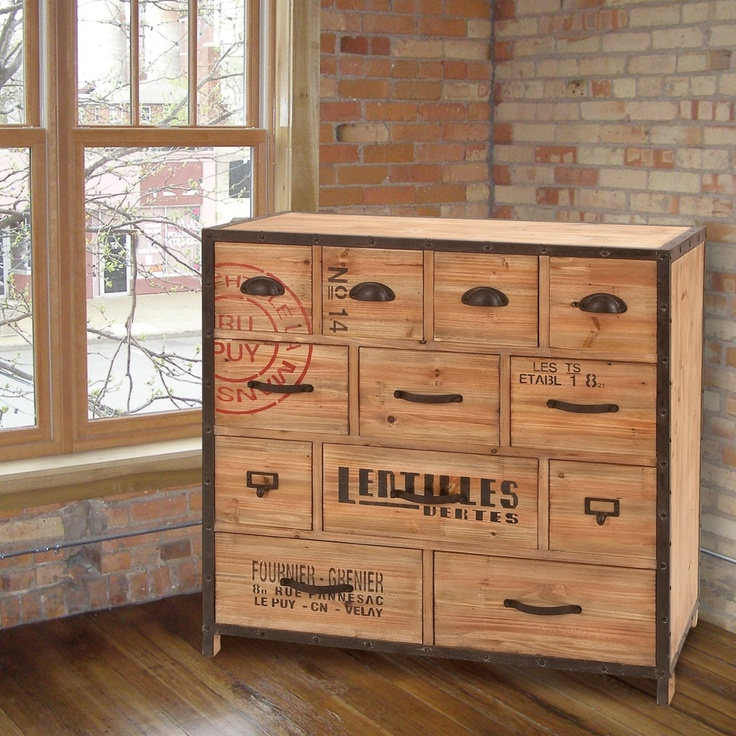 33' Toulouse Wood Cabinet made by Parisian Market >> What a fun piece of furniture! 65% off, only $309!