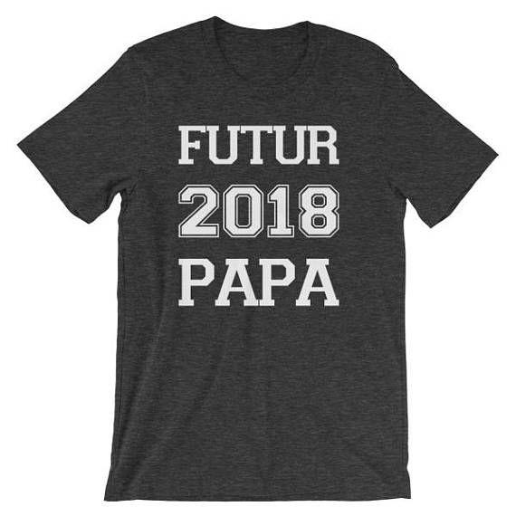 Tshirt pour homme Futur papa 2018