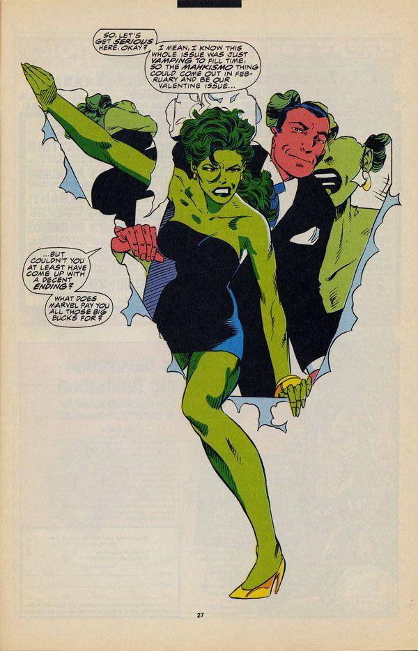 Byrne Robotics: JBF Reading club : The Sensational She-Hulk # 37