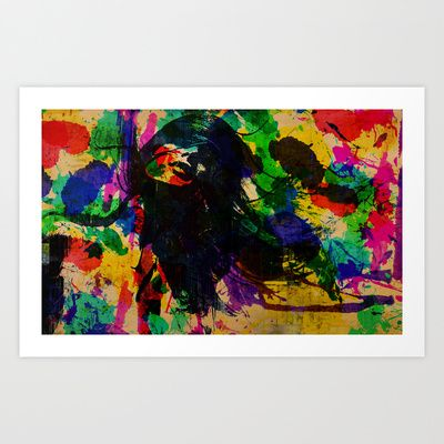colorful pleasure Art Print by Ace of Spades - $17.99