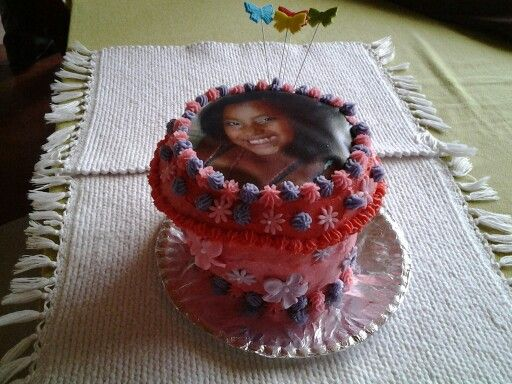 Large picture cupcake