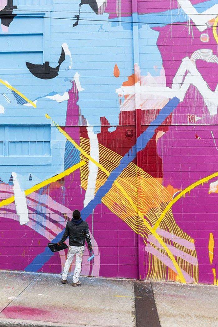 Hense, Graffiti, Street Art, Washington DC Church, Murals, WCAC, Washington DC- Cultural Arts Center