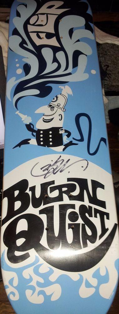 Flip Skateboards Bob Burnquist Autographed Deck