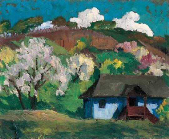 Balla, Béla (1882-1965) - Spring in Nagybánya