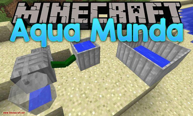 Aqua Munda Mod 1 12 2 1 11 2 Immersive Craft Addon Works Around Water Amp Cooking Minecraft1112mods Minecraft1122mods Aqua Mod Minecraft 1