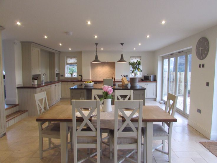 Boldmere House Shipton Oliffe Rsj Builders Stenvall Interiors Beautiful Country Kitchen And Diner ExtensionOpen Plan