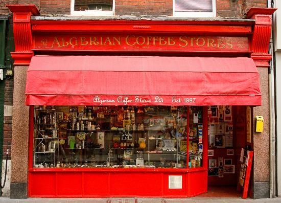 Algerian Coffee Stores Add to trip 52 Old Compton Street, London W1D 4PB, England 020 7437 2480  Opening Hours:  Monday - Wednesday    9 a.m to 7 p.m  Thursday and Friday    9 a.m to 9 p.m  Saturday    9 a.m to 8 p.m