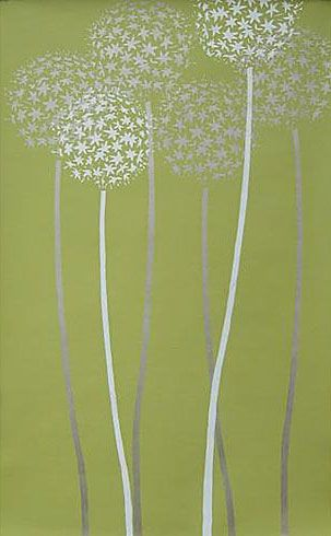 Cutting Edge Stencils - Allium Gladiator Flower Stencil