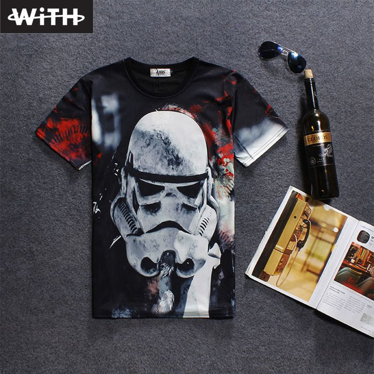 2018 New Arrivals 3d T Shirt Storm Trooper Leaves Space Character  #stormtrooper