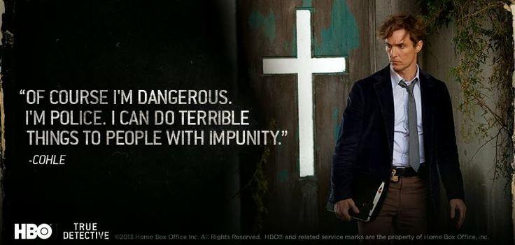 HBO True Detective quotes | Publicado por Luis García Fanlo en 21:09 No hay comentarios: