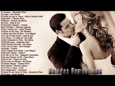 Baladas Romanticas 2016 - Canciones de Amor y Baladas Románticas 2016 - romantico grandes canciones - YouTube