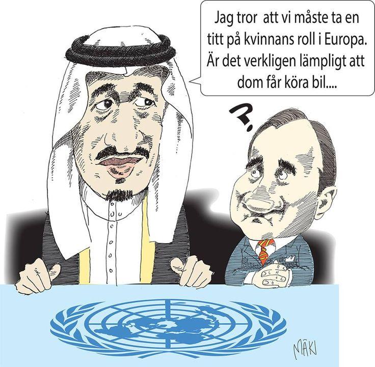 Saudiarabien har röstats in FNs kvinnokommission, CSW.