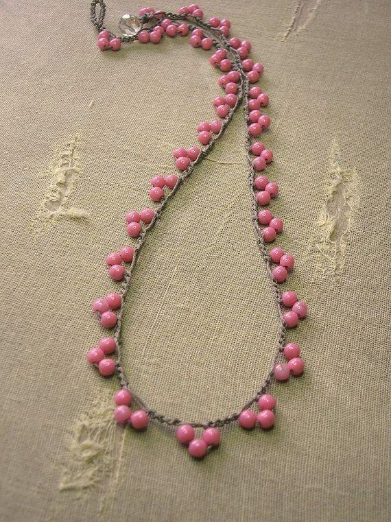 RESERVADO para Seliena crochet collar bohemio por 3DivasStudio