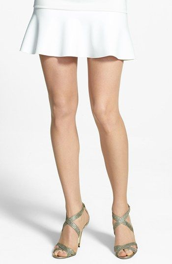 Women's Wolford 'Luxe 9' Toeless Tights