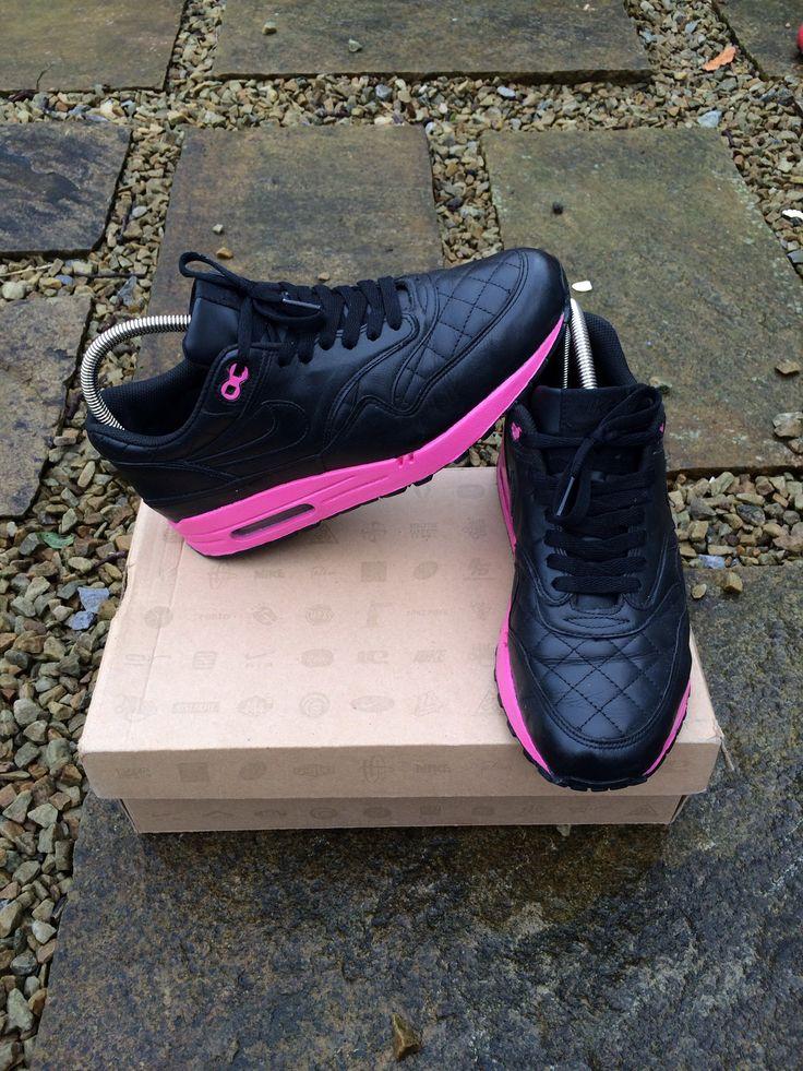 Echt Nike Air Footscape Motion Herren schwarzhell MagentaSea SprayWeiß Schuhe