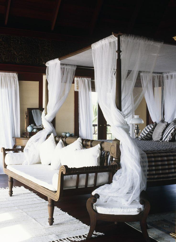 Тропическая спальня   #полог #спальня #тропическийстиль