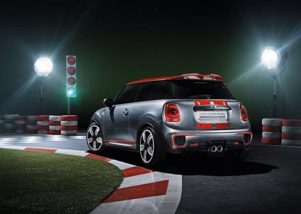 2014 Mini John Cooper Works Pictures 600x427 2014 Mini John Cooper Works Concept and Images