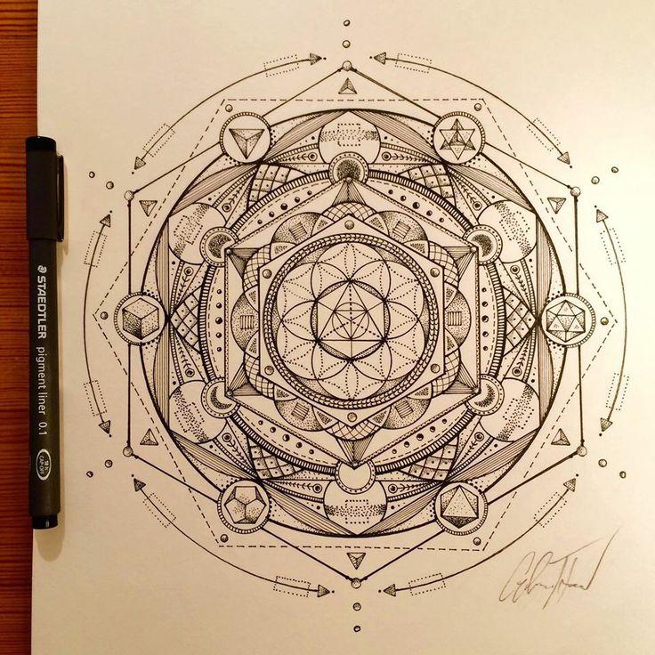 glenn thomson sacred geometry and mandalas pinterest