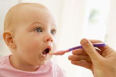 """Solid Food Charts and more for babiesage 8-10 months Introducing Solid Foods to Your 8 – 10 Month Old Baby """"I'm moving on and I want to feed myself!""""  Your 8-10 Month old baby might be crawling and trying to pull herself up. and she may not have a big interest in eating. As …"""