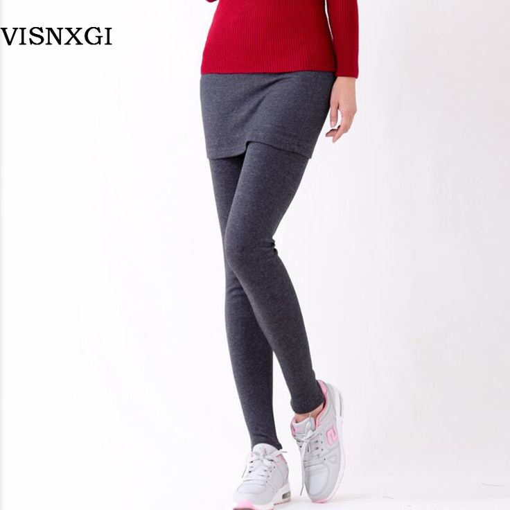 2017 מכירת חמה שחור אפור אפור בהיר False שני חלקים של צועד Pantskirt נשים אופנה חותלות עם חצאיות המיניות Slim Fit