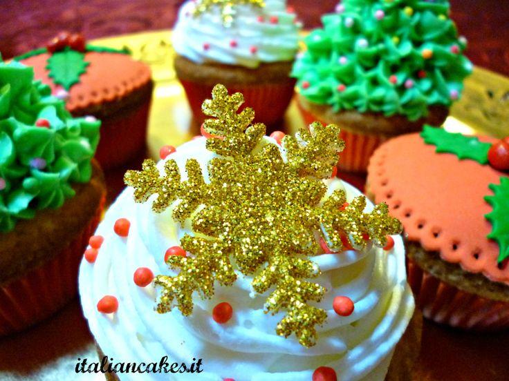 Christmas cupcakes by ItalianCakes