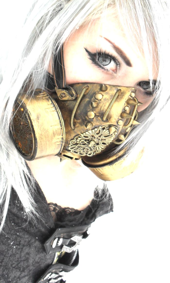 tumblr_mhb2zhr3xs1ql1ccgo1_1280.png (700×1165) Post-apocalyptic gas mask                                                                                                                                                                                 More