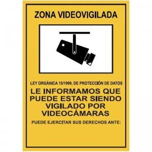 Señal Zona videovigilada - http://www.janfer.com/es/varias/1363-senal-zona-videovigilada.html