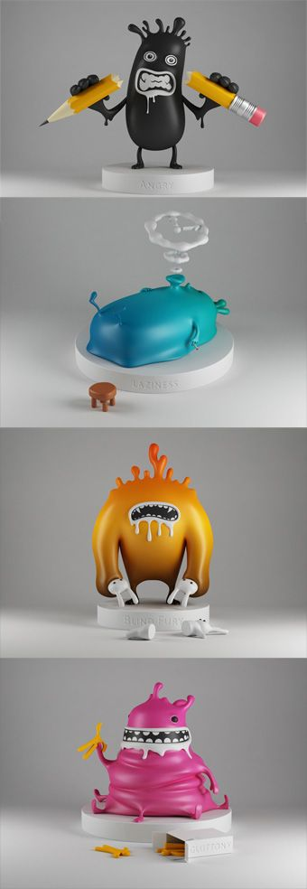 "Art toys from Estonie : the ""Sin Toys"""