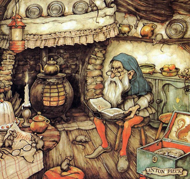 Tales of the Efteling by Martine Bijl and Anton Pieck
