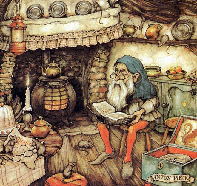 Художник ANTON PIECK и его сказочные иллюстрации - Любовь к жизни