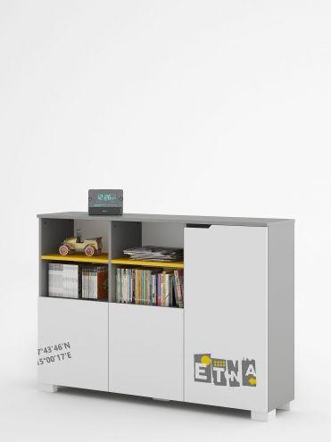 150-as YO alacsony könyvespolc
