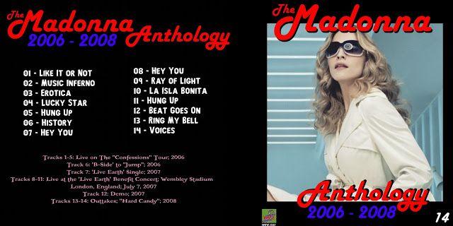 The Madonna Anthology 1979 2009 16 Discs Guitars101 Guitar Forums Madonna Madonna Albums Anthology