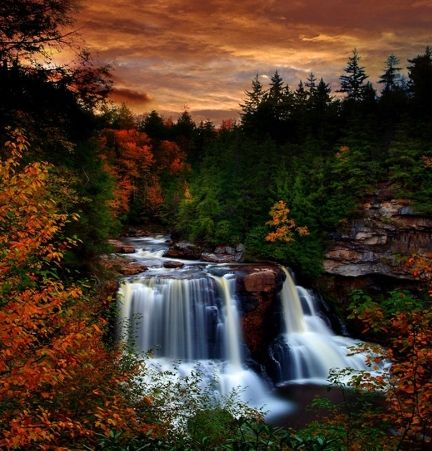 Blackwater Falls, Davis, West Virginia.