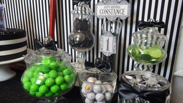 Beetlejuice / Tim Burton Candy Sweets set up