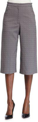 ZAC Zac Posen Cropped Culotte Pants, Summer Storm - Shop for women's Pants - SUMMER STORM Pants