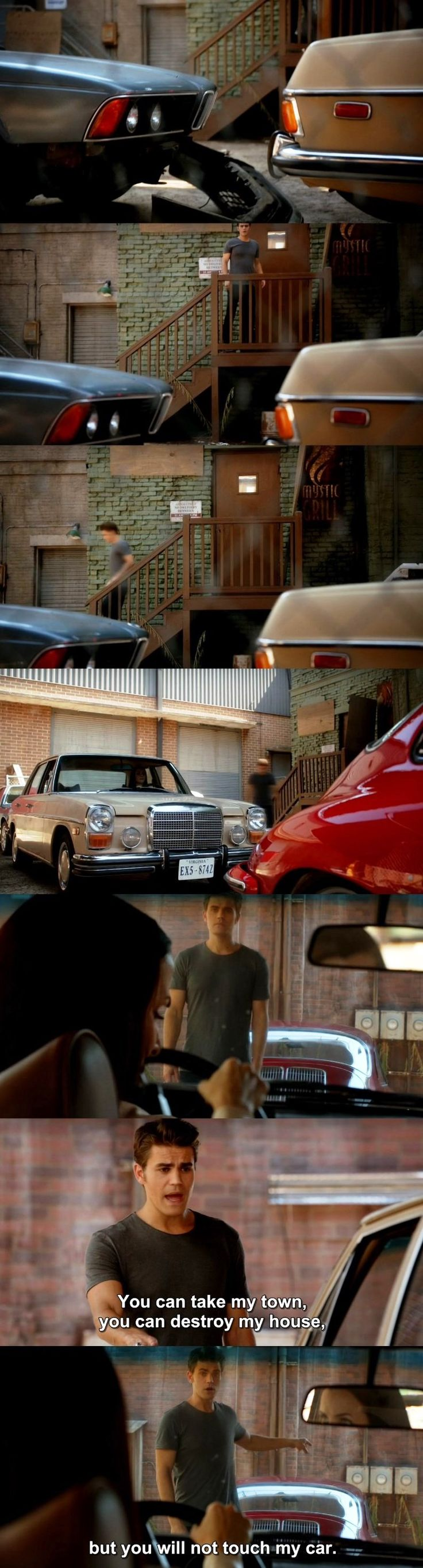 The Vampire Diaries TVD 7X03 - Stefan and Lily