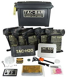 Tac-Bar is the only ration designed to perfectly fit into this standardized ammo can five at a time. Additionally our 4 layer Mylar vacuum pouches have a thickness of 110 microns the strongest aroun...
