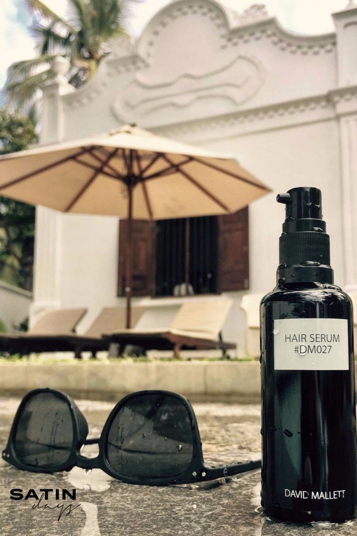If you are lucky enough to be enjoying the winter sun, don't forget to apply David Mallet hair serum onto your lengths before hearding for a swim. Hair oils protect your hair from aggressive chlorine on your hair colour and prevent coloured hair going 'green'! #davidmallett #haircare