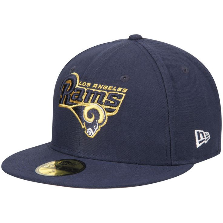 Los Angeles Rams New Era 59FIFTY Fitted Hat - Navy