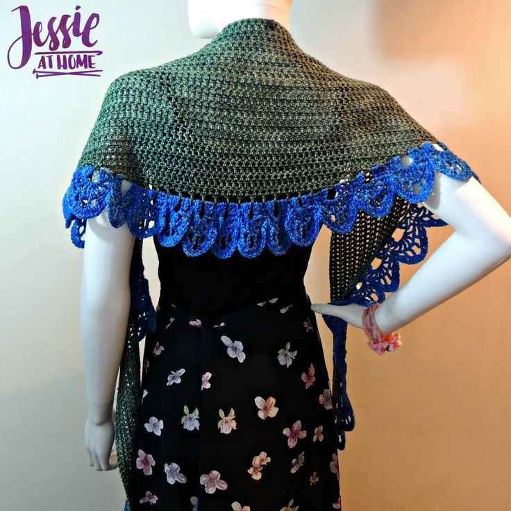 292 Best Crochet Circle Shawl Images On Pinterest Ponchos Boleros
