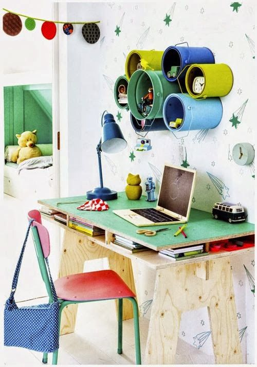 Recycling Ideas PAINT CANS WALL ORGANIZER
