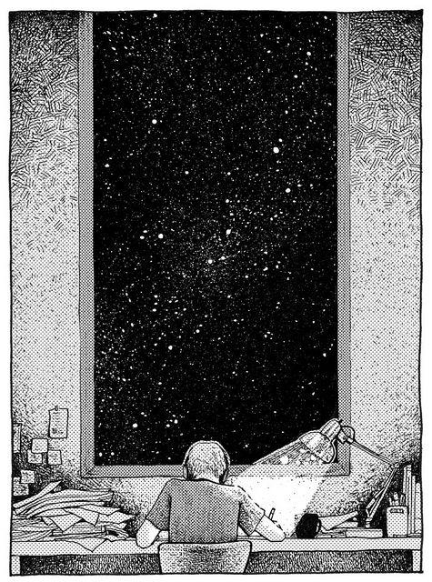 Noche oscura fondos blanco y negro