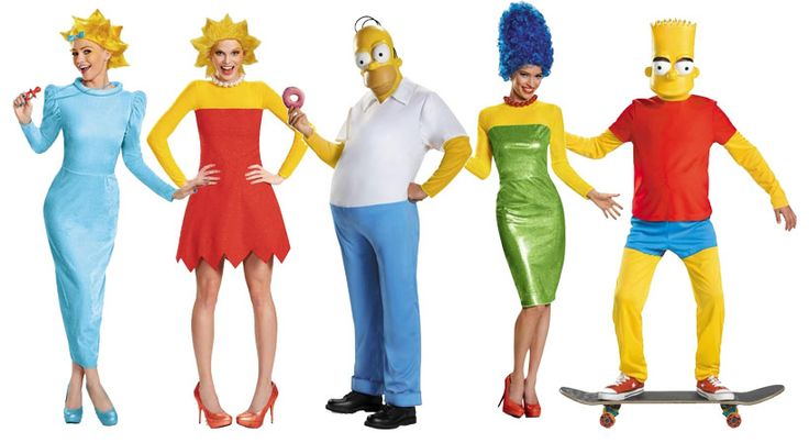 The Simpsons Costumes | Top Halloween Costumes 2015: Best Costume Ideas 2015  tophalloweencostumes2015.com